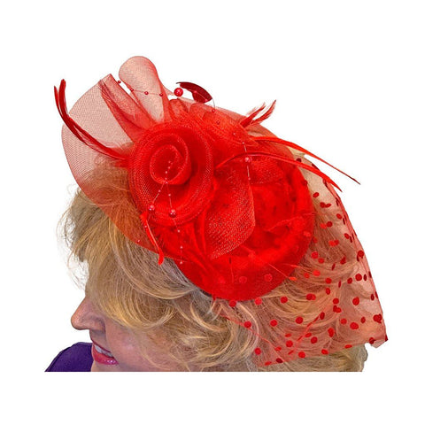 Winnie Pillbox Fascinator