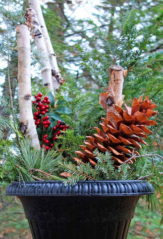 Pine Cone Crafty Ideas for Christmas Decorating in May!😲