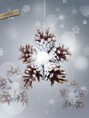 pine cone ideas for holiday decorating