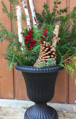 holiday diy with pine cones