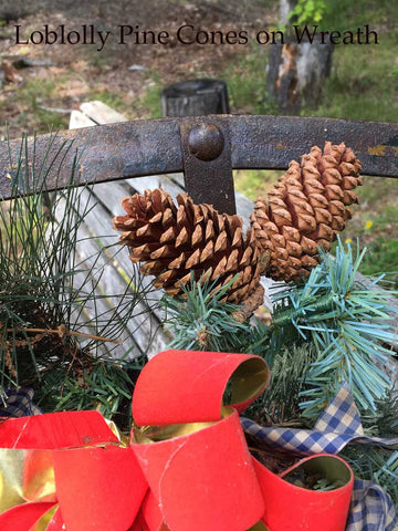 pine cones for christmas decor - Christmas Decorations With Large Pine Cones