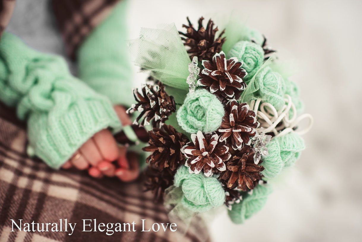 Winter Wedding Brides Bouquet