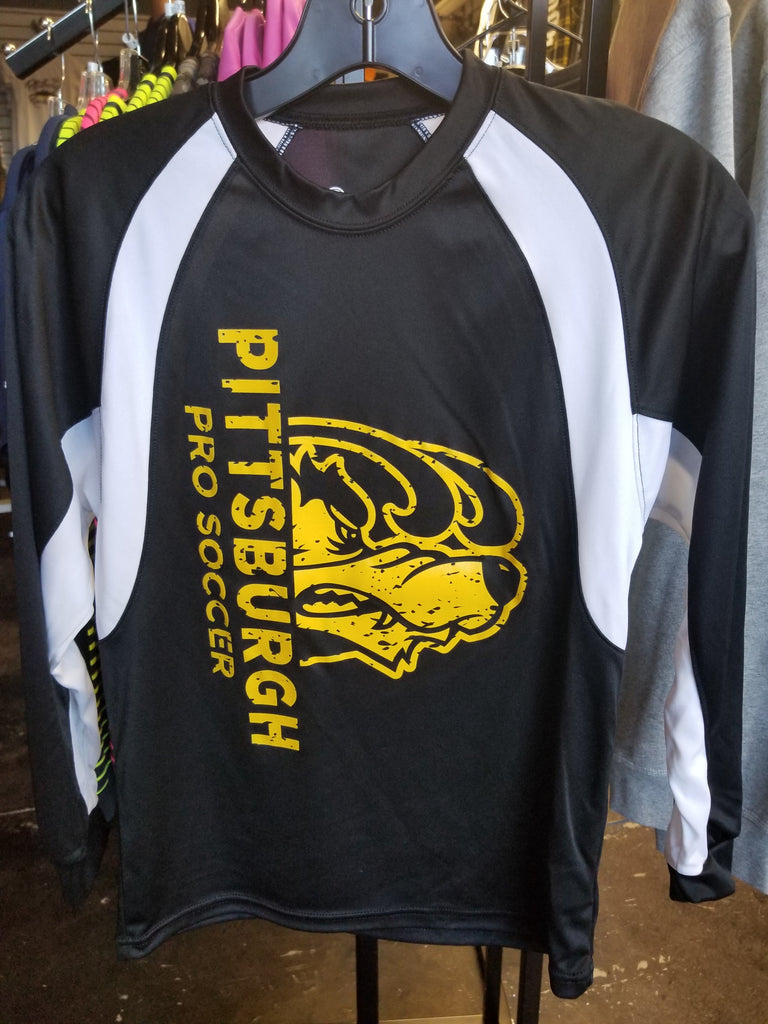 Pittsburgh Pro Soccer Youth Colorblock Longsleeve T-shirt