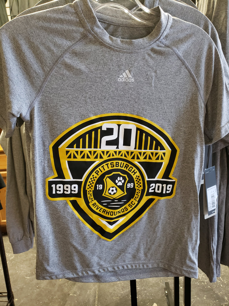 d15f9c1b 2019 Pro Training Shirt-Adidas 20th Anniversary Shield – Pittsburgh  Riverhounds SC Team Store