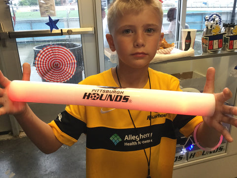 Pittsburgh Hounds Glow Baton