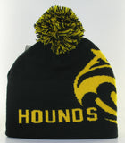 Beanie-Knit with Hounds head
