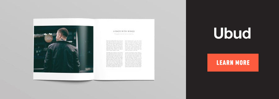 ubud book design template