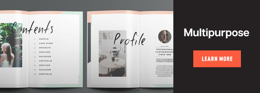 multipurpose book design template
