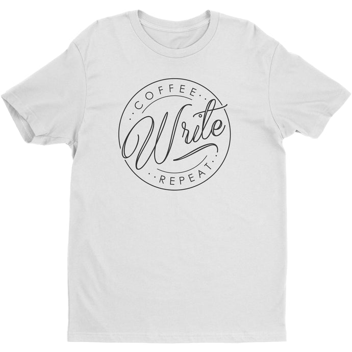 Coffee Write Repeat - Men's Shirt