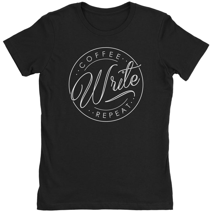 Coffee Write Repeat - Women's Shirt