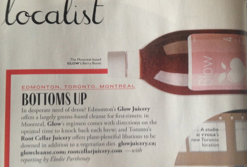 Flare January 2014 Glow Cleanse
