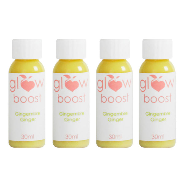 Ginger Boosts - Glow Detox Cleanse Cure Détox Jus Smoothies Juices Smoothies