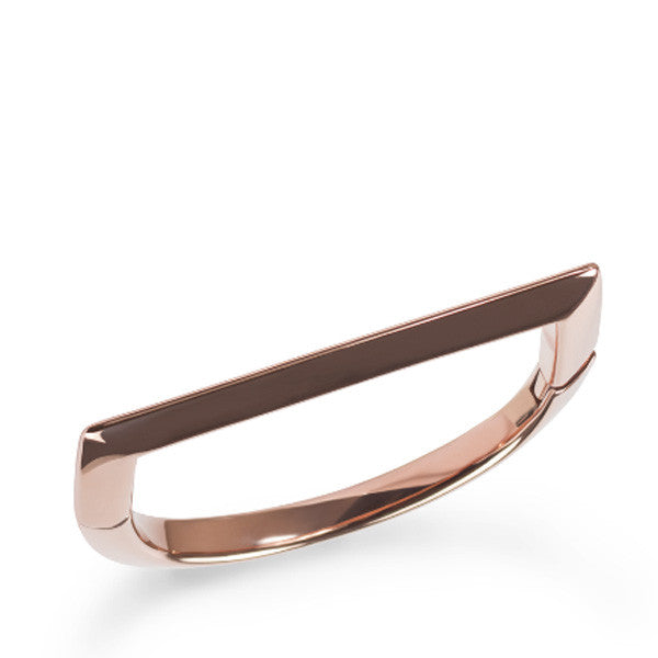 Bracelet Droit x Rose Gold