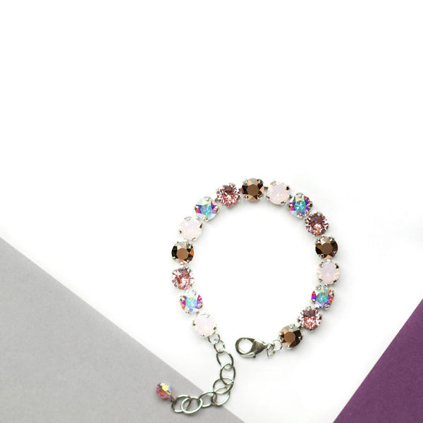 Bracelet Pink Blush x Stainless Steel