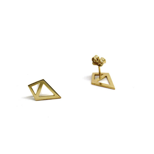 Earrings Diamant Brute