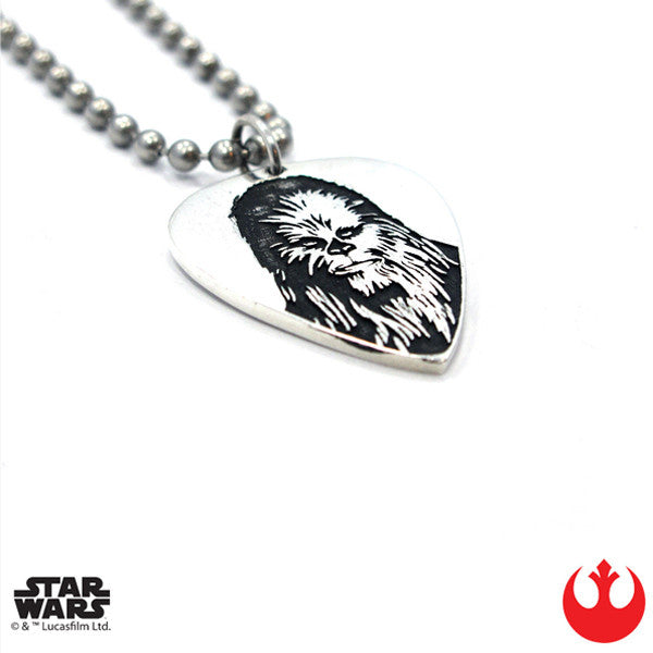 Chewbacca Guitar Pick x Stainless Steel