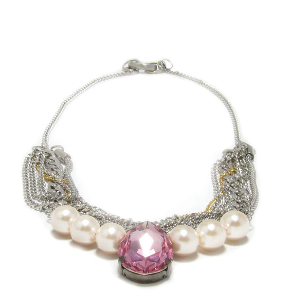 Collier Rose Bonbon