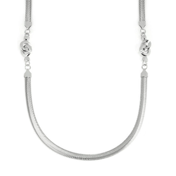 Necklace Sautoire 2 Chains x Stainless Steel