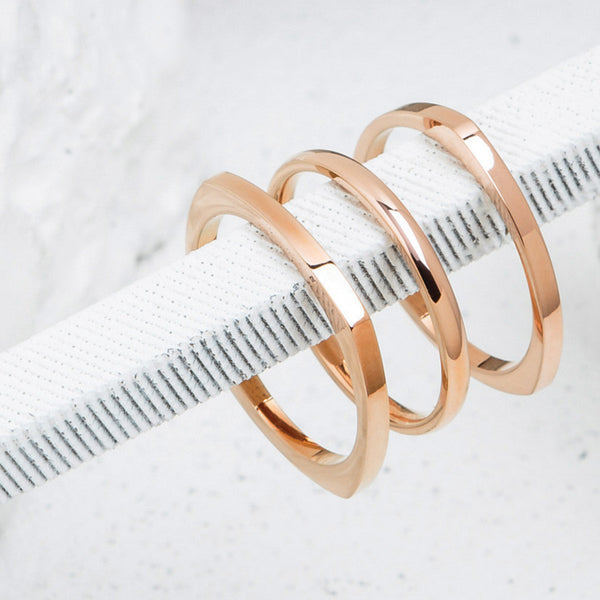 Shapes x Rose Gold
