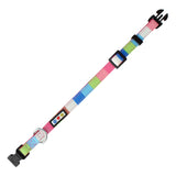 Pet / Puppy Soft Training Adjustable Multicolor Dog Collar front view