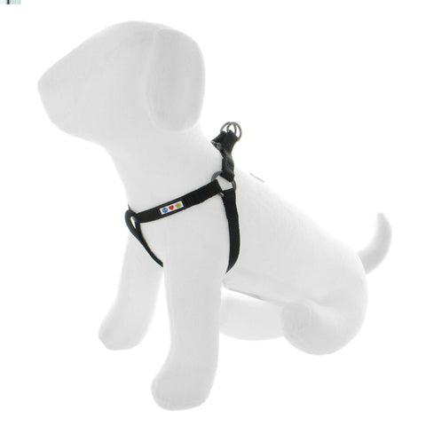 BASIC PAWTITAS DOG HARNESS BLACK