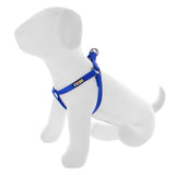 BASIC PAWTITAS DOG HARNESS BLUE