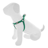 BASIC PAWTITAS DOG HARNESS LUSH GREEN