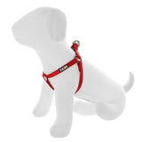BASIC PAWTITAS DOG HARNESS RED