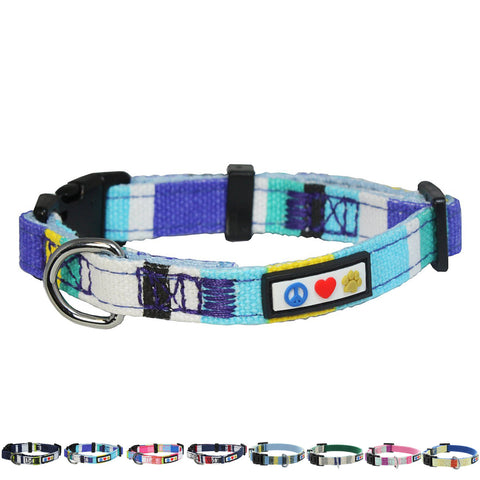 Pet / Puppy Soft Training Adjustable blue Dog Collar