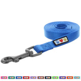 Pawtitas Pet Solid blue 6 feet Puppy /  Dog Leash