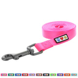 Pawtitas Pet Solid pink 6 feet Puppy /  Dog Leash