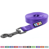 Pawtitas Pet Solid purple 6 feet Puppy /  Dog Leash