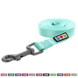 Pawtitas Pet Solid teal 6 feet Puppy /  Dog Leash