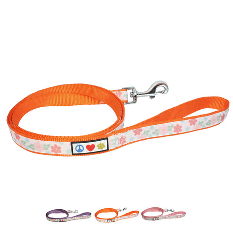 Flower Nylon Puppy / Dog Leash main picture