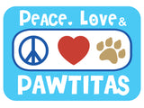 pawtitas logo dog collar
