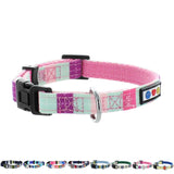 Pet / Puppy Soft Training Adjustable teal pink Dog Collar
