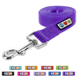 Purple Pet / Puppy 6 - feet Reflective Dog Leash