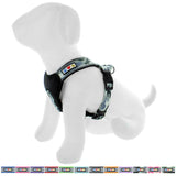 Pet Training Soft Adjustable Reflective Padded Puppy / Dog Harness grey camouflage