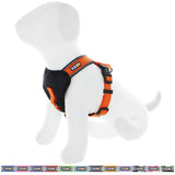 Pet Training Soft Adjustable Reflective Padded Puppy / Dog Harness orange
