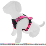 Pet Training Soft Adjustable Reflective Padded Puppy / Dog Harness pink