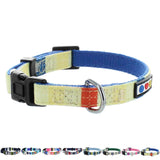 Pet / Puppy Soft Training Adjustable yellow blue Dog Collar