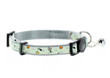 Glow In The Dark Cat Collar with Safety Buckle and Bell right view