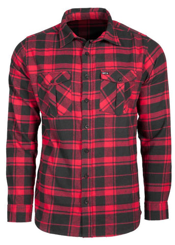 Outpost Flannel Shirt Red