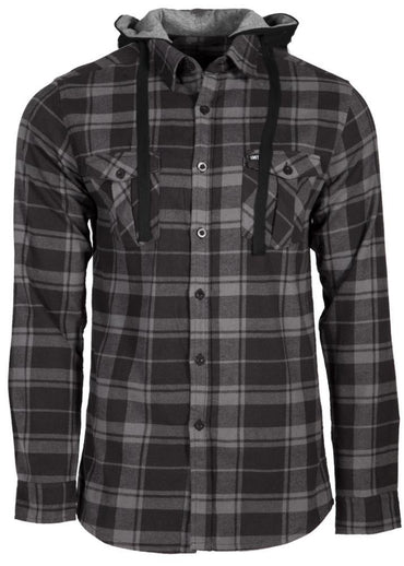 Comrade Hooded Flannel Shirt