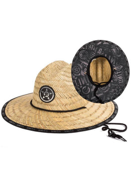 Turbulence Straw Hat