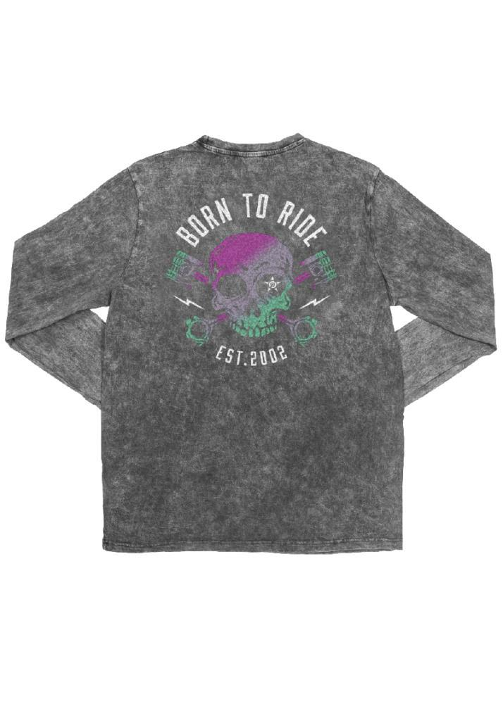 Born To Ride Youth LS Tee