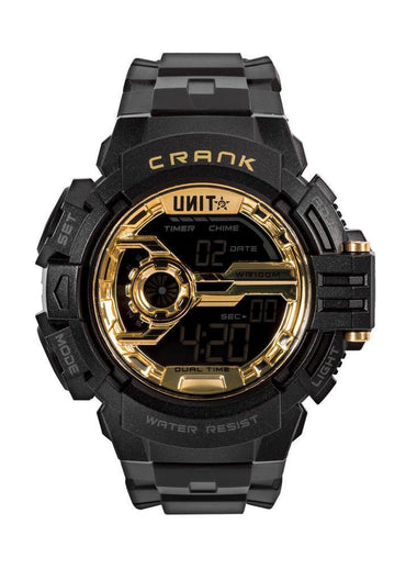 Crank Watch Black Gold