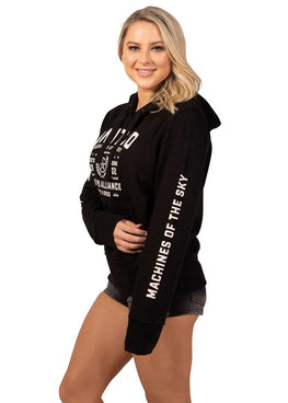 Queen Bee Ladies Hoody