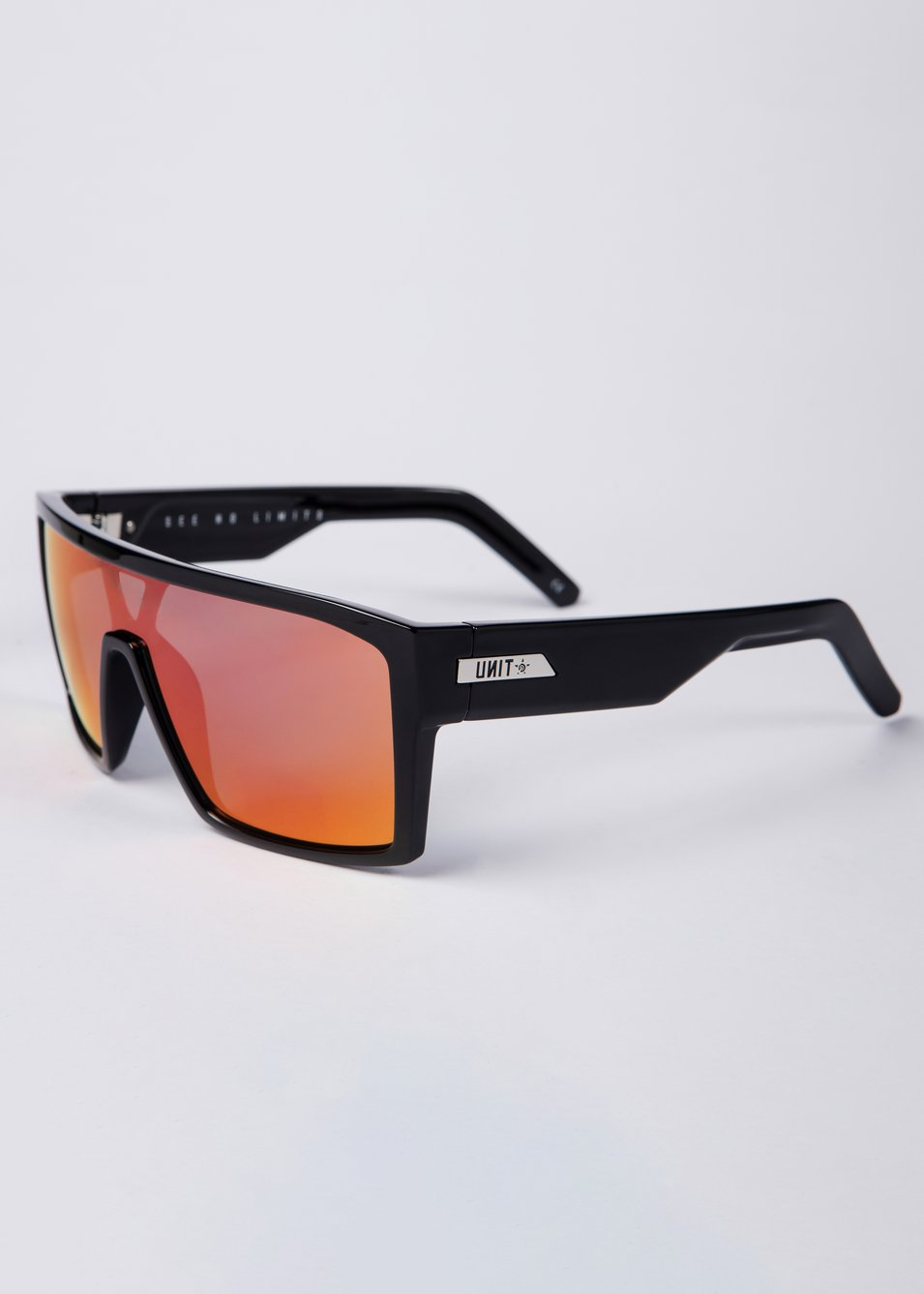 Command Polarised Sunglasses - Black / Purple / Orange