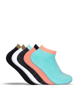 Ladies Bamboo Lo Lux Socks - 5 Pack
